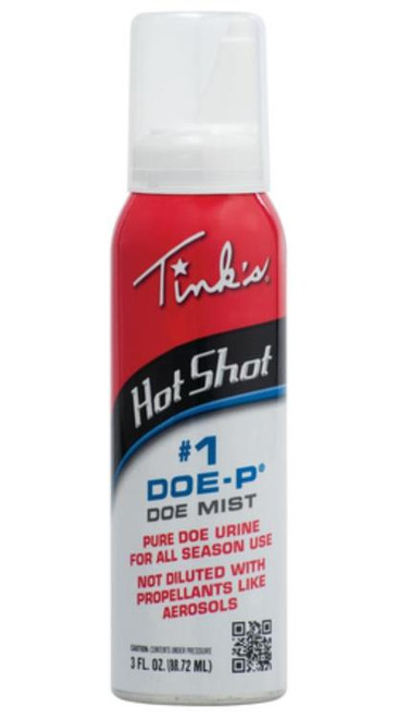 Hot Shot #1 Doe-P Non-Estrous Mist 3oz Spray