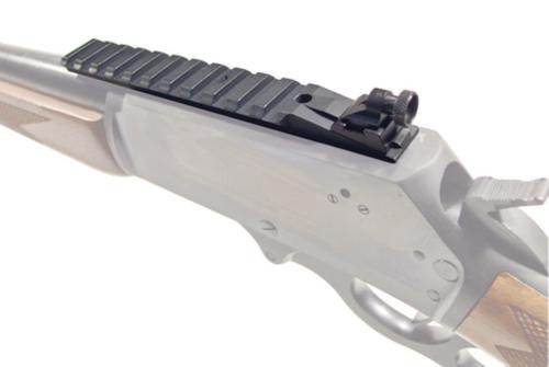 Williams Gun Sight Ace In The Hole Scope Rail With Built In Aperture Sight and Fiber Optic Front Sight Ruger 10/22