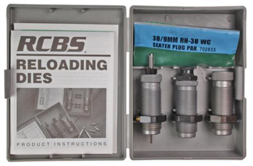 RCBS Carbide 3-Die Set .357/.38 Special