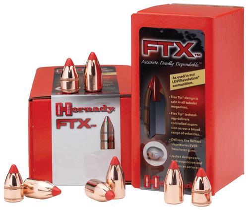 Hornady FTX Rifle Bullets 348 Caliber .348 200gr, Flex Tip Expanding, 100 Box