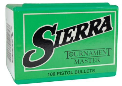 Sierra Bullets Tournament Master, 9mm, 125Gr, .355 Diameter, Full Metal Jacket, 100rd Box