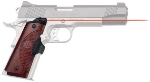Crimson Trace Master Series 1911, Full-Size Rosewood, Red