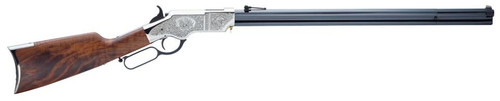 """Henry Original 44-40 Silver Deluxe Engraved 24.5"""" Barrel 13 Rounds, Limited to 1000 Rifles"""