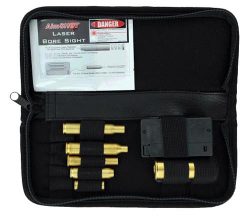Aimshot Boresight Rifle Kit Laser Universal Rifle Calibers Brass