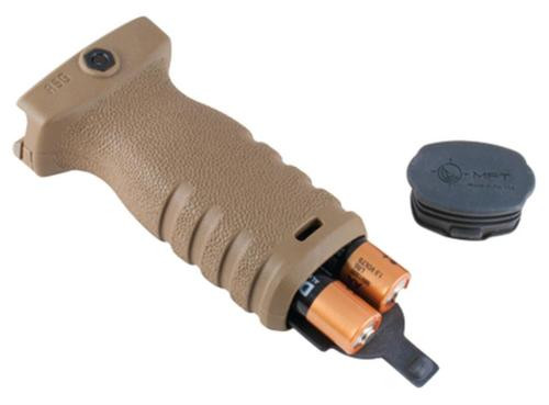 Mission First Tactical REACT Torch and Vertical Grip Scorched Drak Earth
