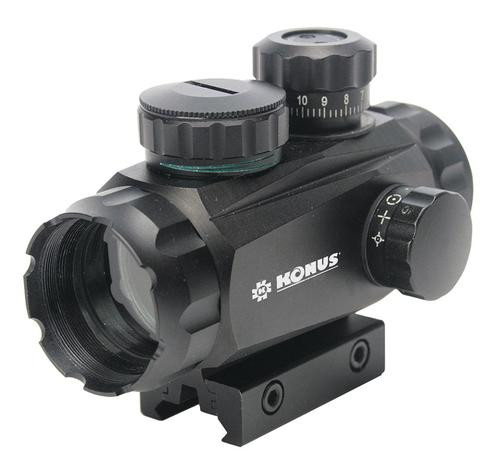 Konus Sight Pro TR 1x 35mm Obj Four Reticles Black
