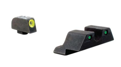 Trijicon Heavy Duty Night Sights Yellow Front Outline Glock 17/17L/19/20/23/24/26/27/29/34/35/37/39