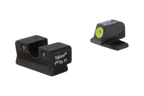 Trijicon Heavy Duty Night Sights Yellow Front Outline P220 (with Dovetail) /P229/P240/P245/Pro 233/Pro 2340/Pro 245