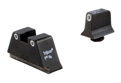 Trijicon Bright & Tough NS For Glock, Suppressor F/R Green Tritium