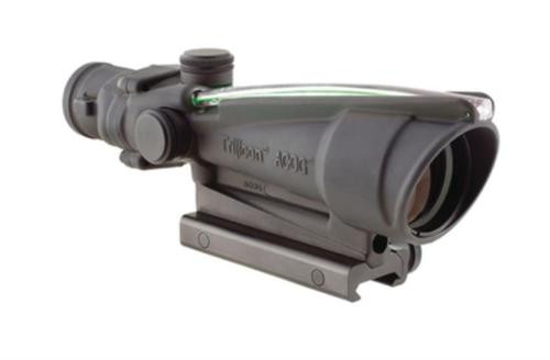 Trijicon ACOG 3.5x35 Scope Dual Illuminated Green Chevron .308 Ballistic Reticle, TA51 Mount