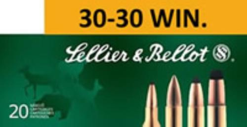 Sellier and Bellot 30-30 Winchester 150 SP 20Rd/Box