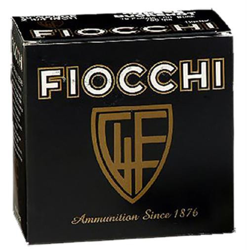 "Fiocchi High Velocity 12 Ga, 2.75"", 1-1/4oz, 8 Shot, 25rd/Box"