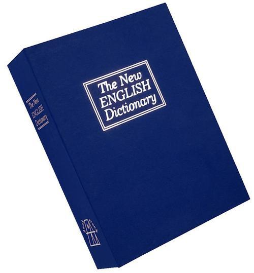 Bulldog Cases Deluxe Blue Diversion Book Safe