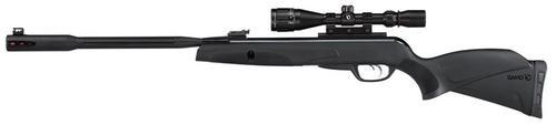 Gamo Whisper Fusion Pro Air Rifle .22 Pellet Break Open, Scope Black