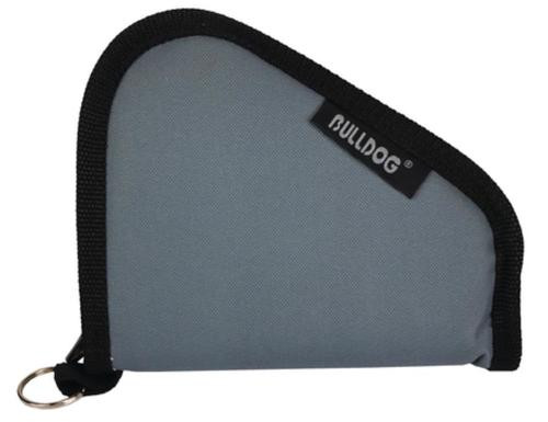 Bulldog Cases Pistol Ruger Without Handles Grey With Black Trim 7x6 Inches