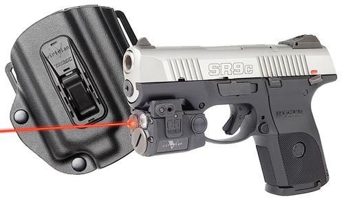Viridian 2 C5LR, Tacloc Holster for Ruger SR9C Red Laser 100 Lm