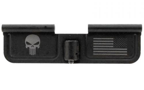 Spikes Ejection Port Door, Punisher and Flag Engraving