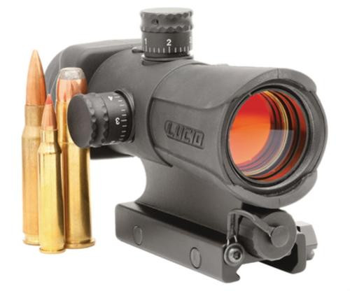 Lucid Red Dot Sight, Variable Reticle, Black
