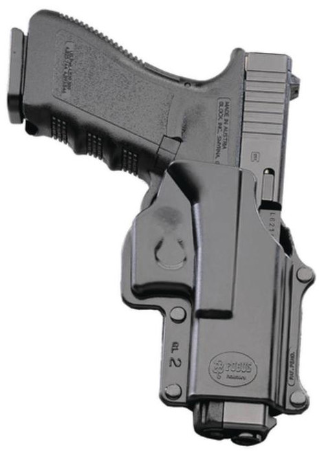 Fobus Standard Belt RH Glock 29/30/39 Plastic Black