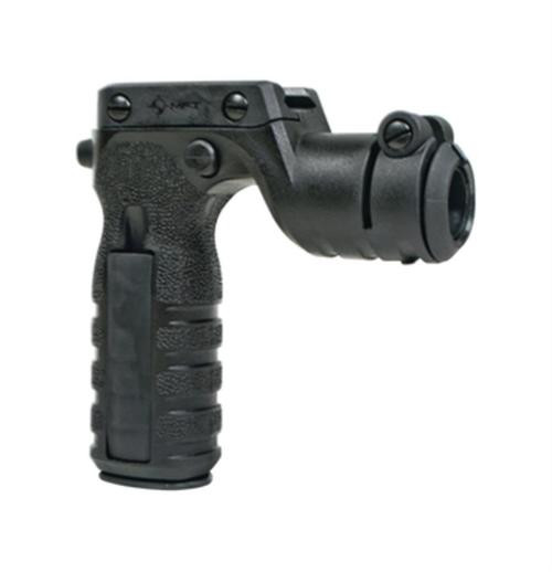 Mission First Tactical React Torch And Vertical Grip, Black