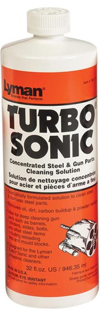 Lyman Turbo Sonic Cleaning Solution 1 All 32 oz Bottle