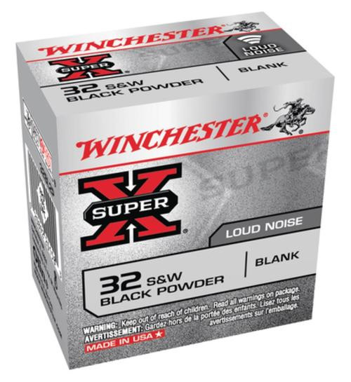 Winchester Super X Blank 32 Smith & Wesson 50rd Box - Not Ammo, These Are Blanks