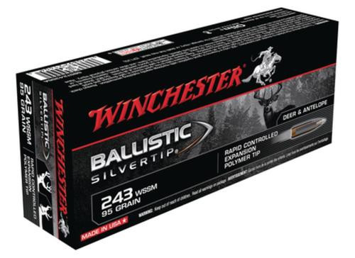 Winchester Supreme 243 Win Super Short Mag BLST 55gr, 20Box/10Cs