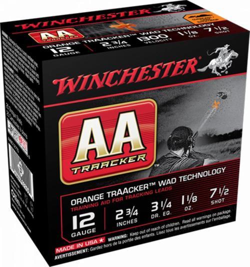 """Winchester AA TrAAcker 20 Ga, 2.75"""", 7.5 Shot, 7/8oz, 25rd/Box"""