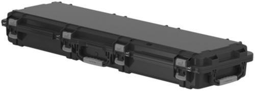 Plano Molding Field Locker Mil-Spec Double Long Gun Case With Wheels Black