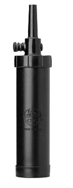 CVA Titan Flask Black Powder Polymer Black 5 oz