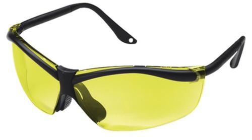Peltor 3M Tekk Protection Shooting Glasses Yellow Lens/Black Frame