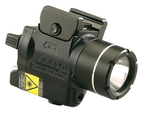 Streamlight TLR-4G Compact Rail Mounted Tactical Light With Green Laser
