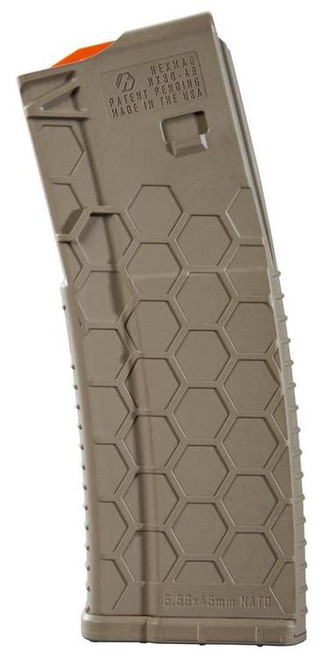 Hexmag AR-15 Magazine, 30rd, Flat Dark Earth