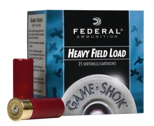 "Federal Game-Shok 12 Ga, 2.75"", 1255 FPS, 1.125oz, 6 Shot, 250rd/Case"