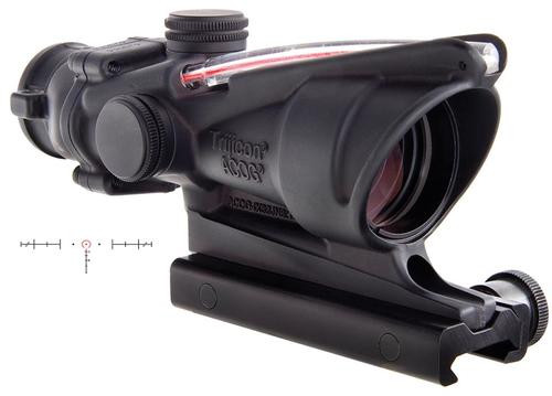 Trijicon ACOG 4x32 Scope Dual Illuminated Red Horseshoe/Dot 6.8 Ballistic Reticle, TA51 Mount