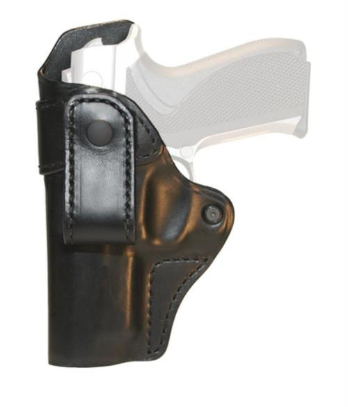 Blackhawk CQC Leather Inside-The-Pants Holster Black Left Hand For Glock 26/27/33