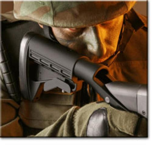 Blackhawk 04200 SpecOp Shotgun Synthetic Matte Black