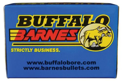 Buffalo Bore 9mm +P+ 95gr, Barnes TAC-XP, 20rd Box