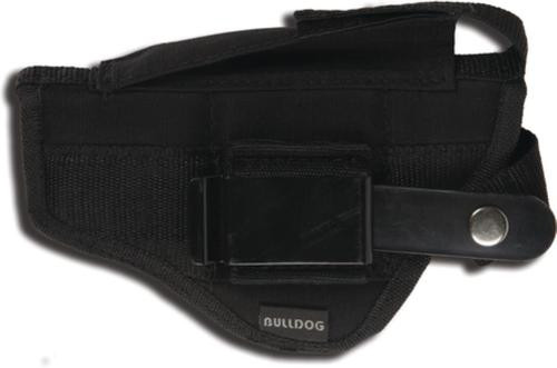 Bulldog Fusion Belt And Clip Ambidextrous Holster For Most Large Frame Autos With 3.5-5 Barrels Black