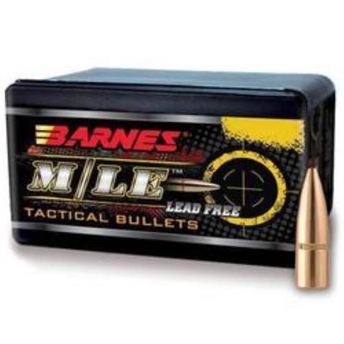 Barnes Bullets 30811 Tactical 30 Caliber .308 110gr, TAC-TX Flat Base, 50rd/Box