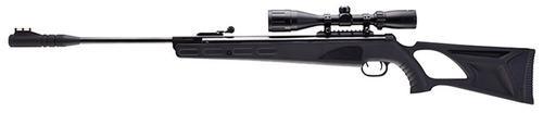 UMA Octane Air Rifle Kit Break Open .177 Pellet, 3-9x40mm Scope, Black