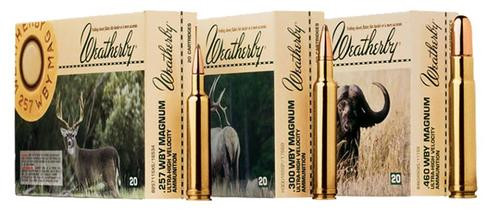 Weatherby 375 Weatherby Magnum Nosler Partition 300gr, 20Rds