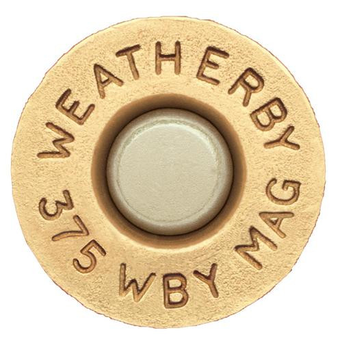 Weatherby Unprimed Brass 375 Weatherby Magnum Lightweight 20 Per Box