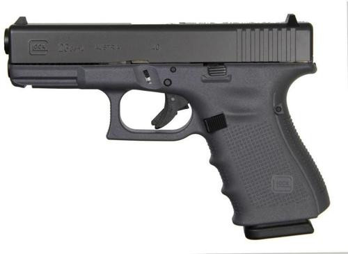 "Glock G27 Gen4, .40 S&W, 3.42"", 9rds, Gray Frame"