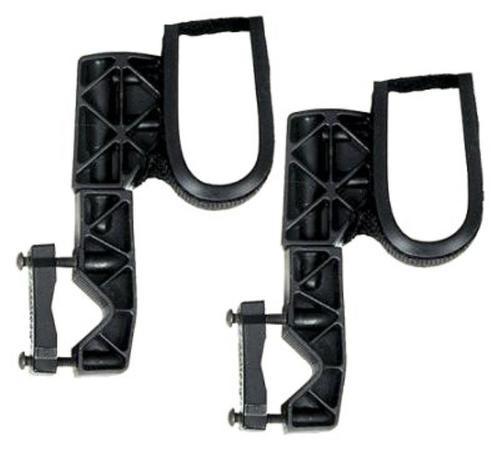 Rugged Gear ATV Gun Rack Black Glass-Filled Nylon Universal Single Hook