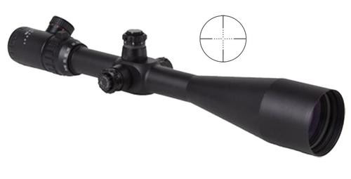 Sightmark 10-40x 56mm Obj 12.6 - 3.2ft@100yd FOV, 30mm Tube, Black Mil-Dot Reticle