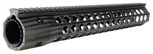 "Troy Revolution Rail SBR Carbon Fiber 15"" Black Carbon Fiber Finish"