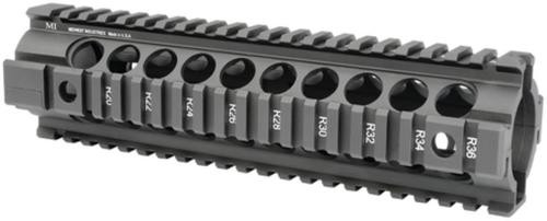 Midwest Gen2 Two-Piece Free Float Handguard Mid-Length Black