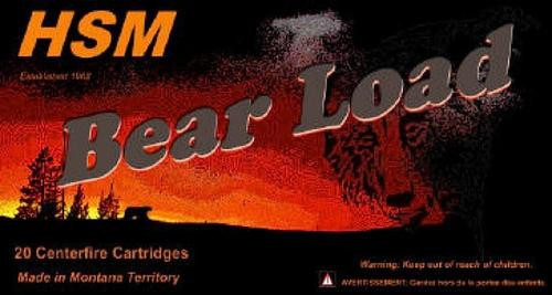 HSM Bear 500 S&W Wfn 440 gr, 20rd Box