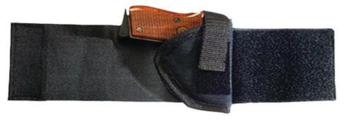 Bulldog Ankle Holster Size 3 Black Right Hand, Glock 23/Colt Mustang Etc